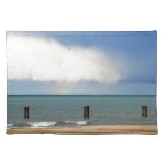 Chicago beach place mats