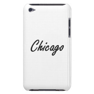 Chicago Black and Silver iPod Case-Mate Cases