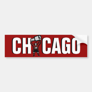 Chicago Blackhawks: Stanley Cup Champions Bumper Sticker