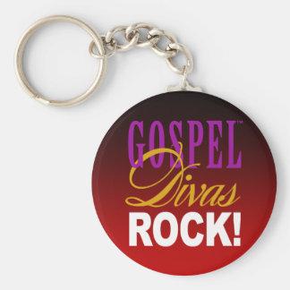 CHICAGO BLING - Gospel Divas Rock! Basic Round Button Key Ring