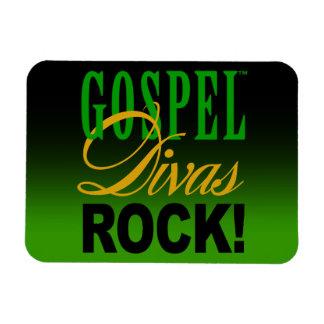 """CHICAGO BLING - """"Gospel Divas Rock!: Rectangular Photo Magnet"""