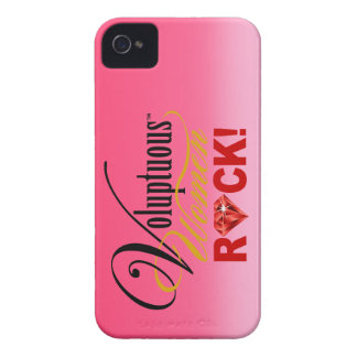 "CHICAGO BLING - ""Voluptuous Women Rock!"" iPhone 4 Case-Mate Cases"