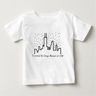 Chicago Blizzard 2011 - Baby T-shirt