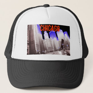 CHICAGO BLUE TRUCKER HAT