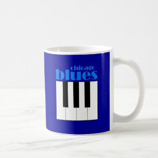 Chicago blues coffee mug