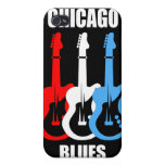 Chicago Blues iPhone 4 Covers