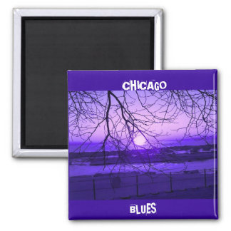 CHICAGO BLUES MAGNET
