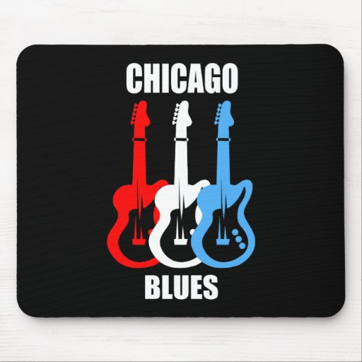 Chicago Blues Mouse Mat