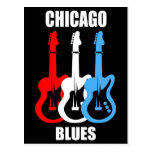 Chicago Blues Post Card