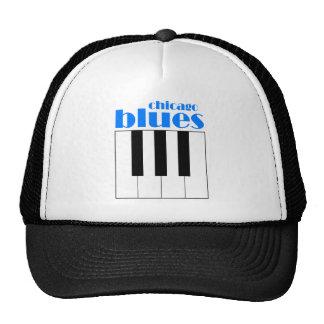 Chicago blues trucker hat