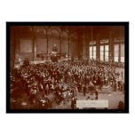 Chicago Board of Trade Photo 1900 Poster