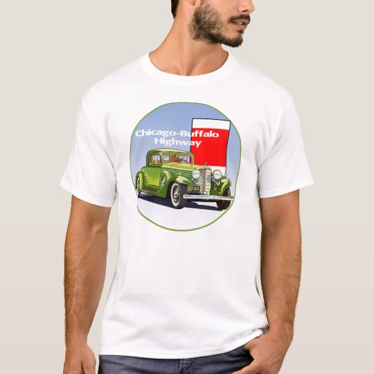 Chicago - Buffalo Highway National Auto Trail T-Shirt