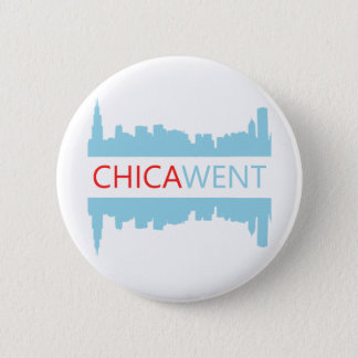 Chicago Button - I CHICA-WENT