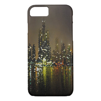 Chicago by Night Girly Bling Popular Abstract iPhone 7 Case