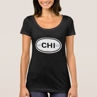 Chicago CHI Euro-Oval T-Shirt