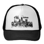 "Chicago ""chi-town"" put on for your city cap"