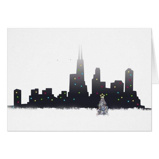 Chicago City Christmas Card