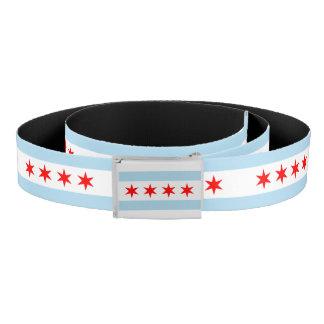 Chicago city flag belt