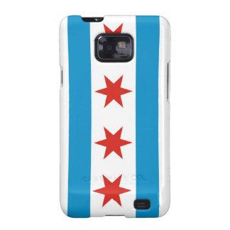 chicago city flag case galaxy s2 case