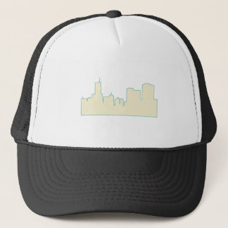 Chicago City Scape Trucker Hat