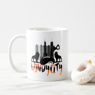 Chicago Cityscape Windy City Coffee Mug