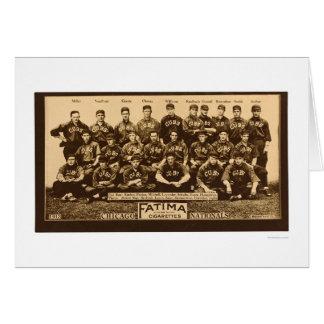 Chicago Cubs Baseball 1913 Card