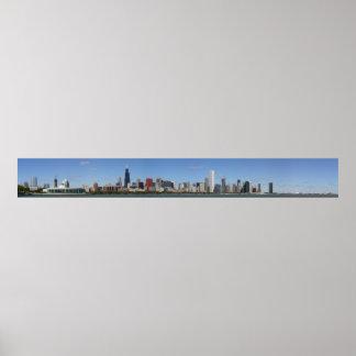 Chicago Daytime Skyline Posters
