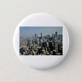 Chicago Downtown 6 Cm Round Badge
