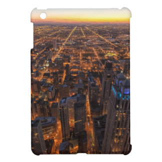 Chicago downtown at sunset cover for the iPad mini