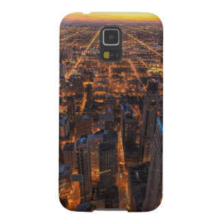 Chicago downtown at sunset galaxy s5 cover