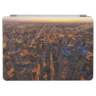 Chicago downtown at sunset iPad air cover