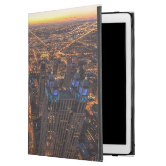 "Chicago downtown at sunset iPad pro 12.9"" case"