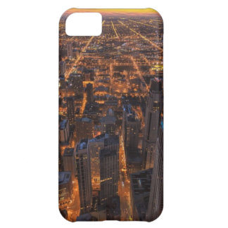 Chicago downtown at sunset iPhone 5C case