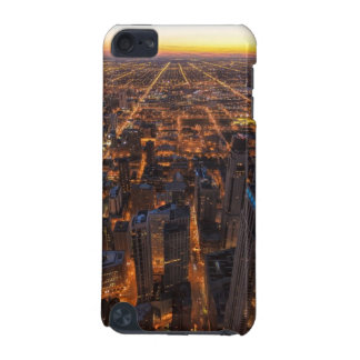Chicago downtown at sunset iPod touch (5th generation) cover