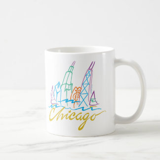 CHICAGO-EMB COFFEE MUG