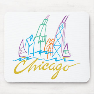 CHICAGO-EMB MOUSE MAT