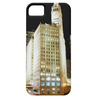 Chicago famous landmark at night iPhone 5 cover