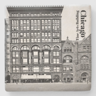 Chicago Fine Arts Building Stone Coaster