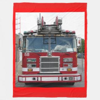 Chicago Fire Dept. Truck Company 58 Fleece Blanket