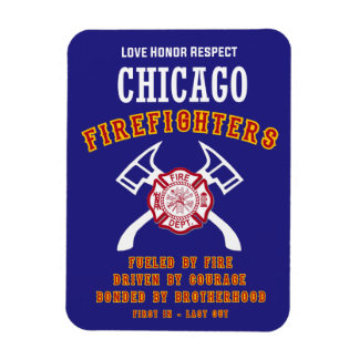 Chicago Firefighters Magnet