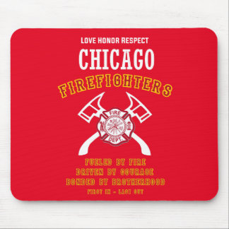Chicago Firefighters Mousemat
