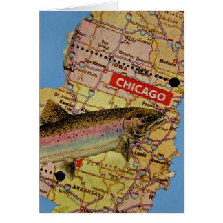 Chicago Fish Card