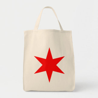 Chicago Flag 6-Pointed Star