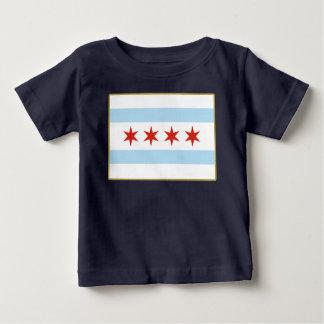 Chicago Flag Baby T-Shirt