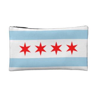 Chicago flag bag! makeup bag