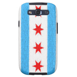 Chicago Flag Samsung Galaxy S3 Cover
