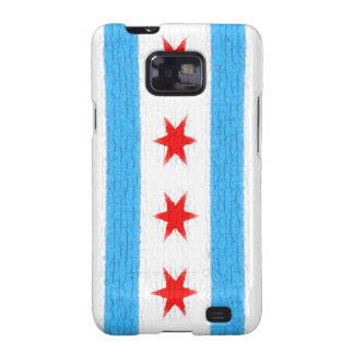 Chicago Flag Samsung Galaxy S2 Covers