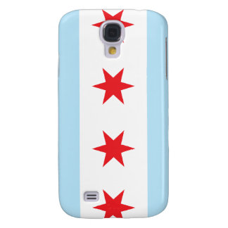Chicago Flag Case for HTC Vivid Samsung Galaxy S4 Covers