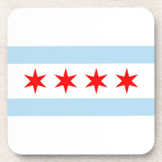 Chicago Flag Coaster