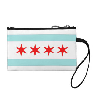 Chicago Flag Coin Wallet
